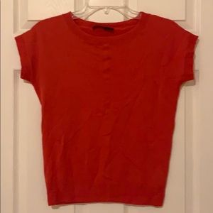 The Limited red cardigan top
